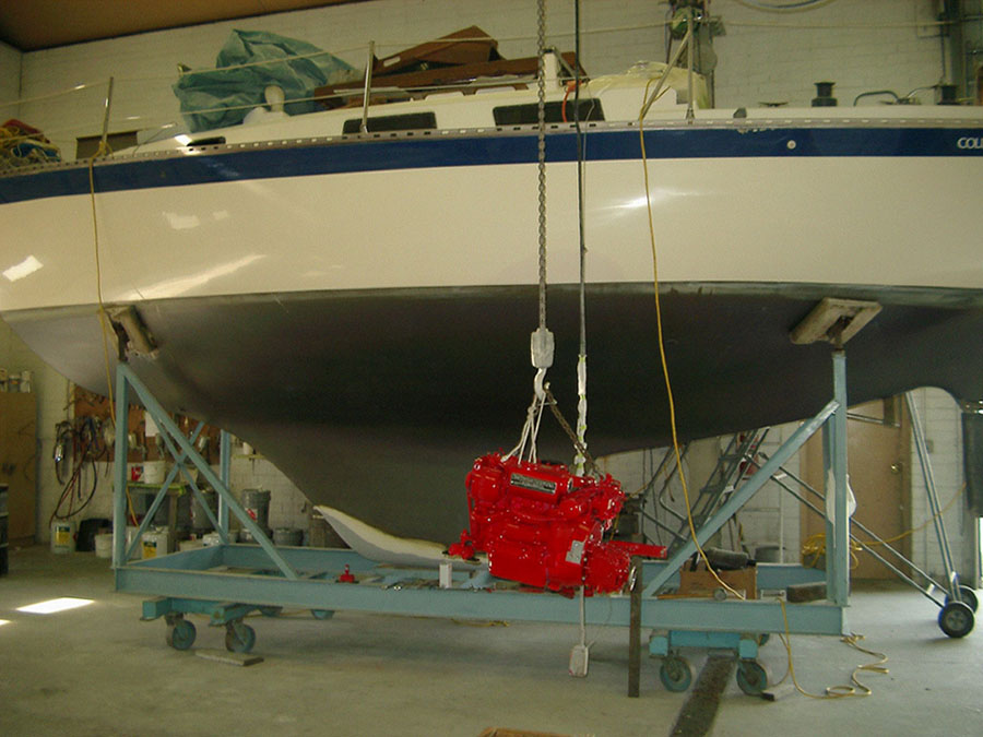 Parker Marine, Inc - Full service boatyard, complete